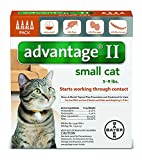 advantage multi for cats - Advantage 9 Topical Solution (Bayer) - Cats/Kittens Under 9 lbs. 724089378699