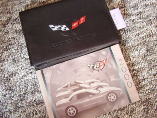 2000 Chevy Chevrolet Corvette Owners Manual
