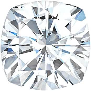 7.5 MM Cushion Cut Forever One® Moissanite by Charles & Colvard 81 Facets - Very Good Cut (1.80ct Actual Weight, 2.00ct Diamond Equivalent Weight)