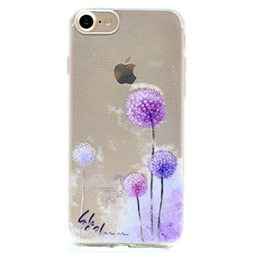 Per Apple iPhone 7 (4,7 Pollici) Custodia ZeWoo® Custodie in TPU silicone Case Cover - MM059 / Dente Di Leone