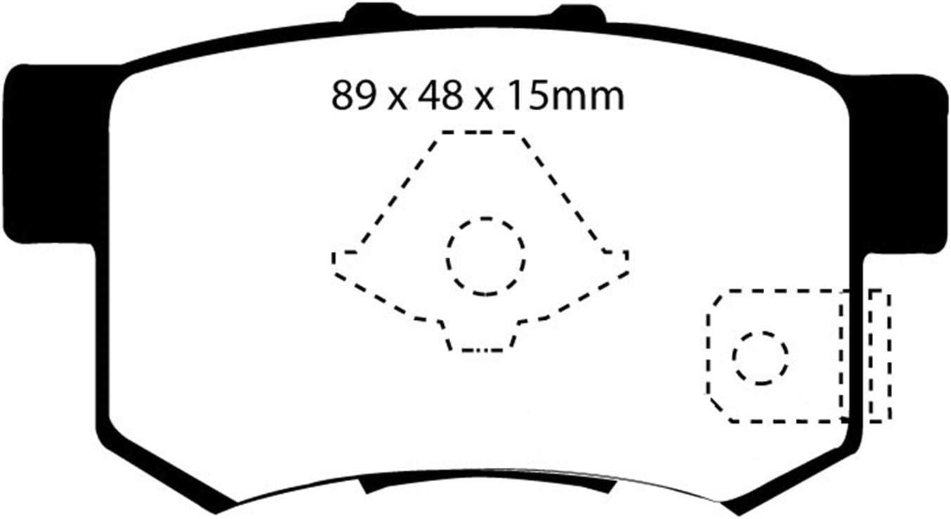 EBC Brakes DP23052 Greenstuff 2000 Series Sport Pad