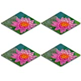 Liili Square Coasters water lily 27948179