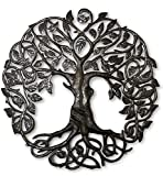 Cheap Large Celtic Tree of Life, Large Outdoor Wall Art, Recycled Metal Haiti, 33″ X 33″