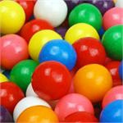 Dubble Bubble Gumballs (100 PIECE BAG DUBBLE BUBBLE 1/2 INCH GUMBALLS)
