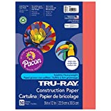 Amazon Price History for:Pacon Tru-Ray Construction Paper, 9-Inches by 12-Inches, 50-Count, Red (103030)