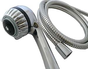 2.0 Chrome Hand Held Body Wash Shower Head   High Performance, Low Flow Watersense