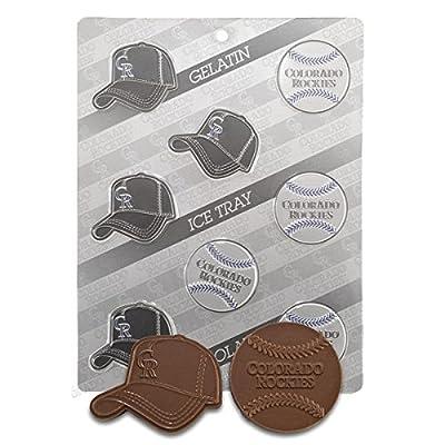 MLB Candy Chocolate Mold - Colorado Rockies