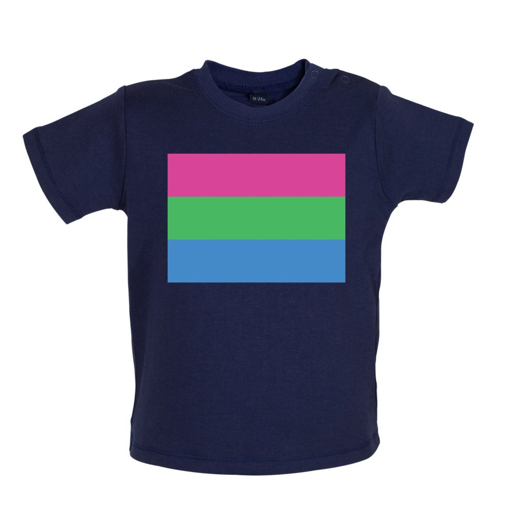 PolySexual Baby//Toddler T-Shirt 3-24 Months Dressdown LGBT Flags