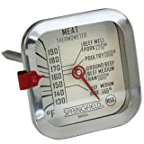 Cook Rite Meat Thermometer, Stainless Steel