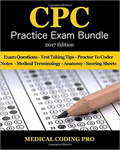 medical coding cpc practice exam bundle 2017 edition 150 cpc