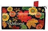 Briarwood Lane Fall Foliage Welcome Large Mailbox Cover Primitive Autumn Leaves Oversized