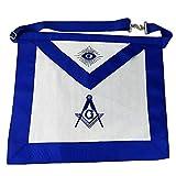Masonic Master Mason Apron-Blue Lodge White Cloth