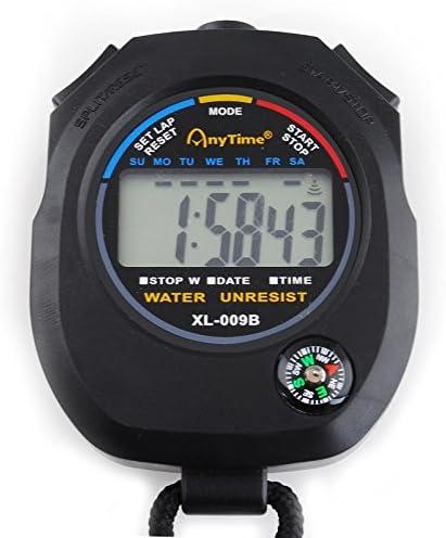 Cronómetro Digital Multifuncional con Brújula + Correa #445 ...