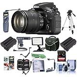 Nikon D810 Digital SLR Kit AF-S NIKKOR 24-120mm f/4G ED VR Lens - Bundle Camera Bag, 64GB Class 10 SDXC Card, 2x Spare Battery, 77mm Filter Kit, Cleaning Kit, Video Light, Tripod More