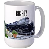 CafePress - Big Boy -Steam -Large Mug - Coffee Mug, Large 15 oz. White Coffee Cup