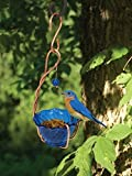 Songbird Essentials SEHHBBMW Copper Bluebird Mealworm Feeder (Set of 1)