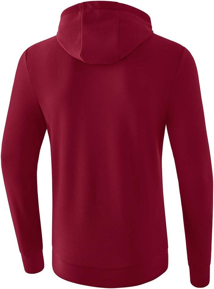 Erima Herren Basic Kapuzen Sweatshirts Bordeaux