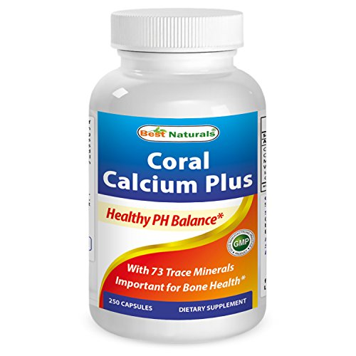 Best Naturals Coral Calcium Plus 1000 mg 250 Capsules