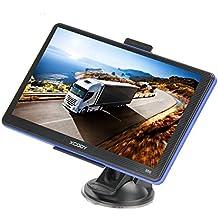 Xgody 740 7 pulgadas portátil camión GPS navegación Capactive pantalla táctil GPS GPS GPS GPS GPS GPS integrado 8GB ROM FM MP3 MP4 mapa de por vida