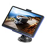 Xgody 886 7'' 8GB RAM Built-in / 256MB ROM Capacitive Touchscreen with Sunshade Spoken Turn-By-Turn Directions SAT NAV Car Truck GPS Navigation Lifetime Map Updates Speed Limit Displays (886)