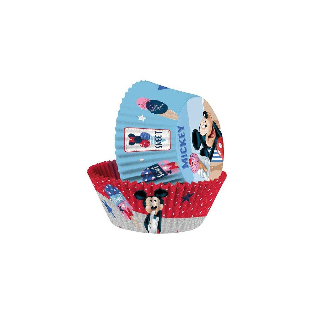 5/x 7/x 3/cm Multicolore ScrapCooking 1233/mm Pirottini di Presentazione Topolino Carta Apte al Contatto Alimentare