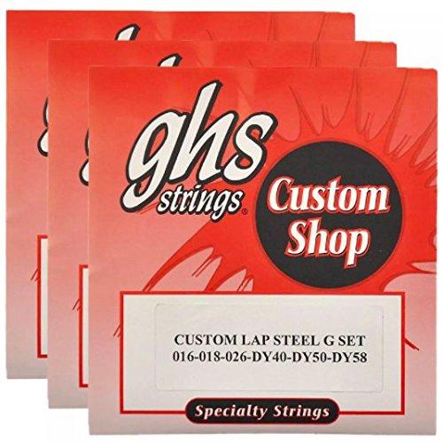 GHS Electric Lap Steel Strings G Tuning 16-58 (3 - Steel Lap Guitar Tuning