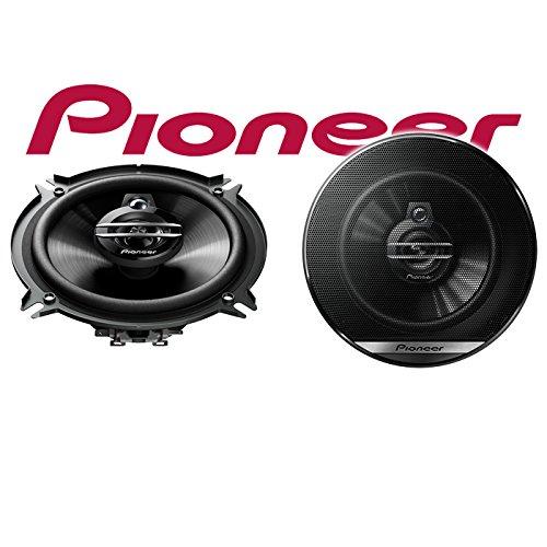 Einbauset f/ür Ford Transit Tourneo Connect Front Lautsprecher Boxen Pioneer TS-G1330F JUST SOUND best choice for caraudio 13cm 3-Wege 130mm Triaxe 250W Auto Einbausatz