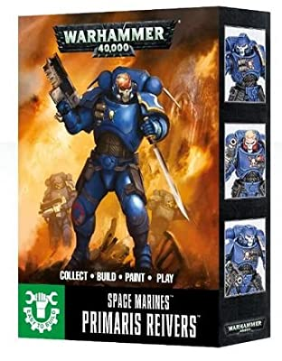 Games Workshop Easy To Build: Primaris Space Marine Reivers from Age of Sigmar
