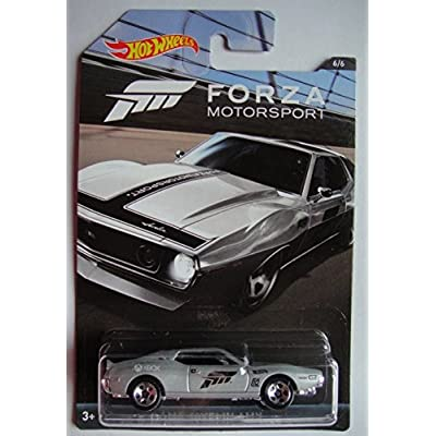 HOT WHEELS FORZA MOTORSPORT SERIES SILVER AMC JAVELIN AMX 6/6 5 SPOKE: Toys & Games