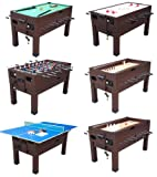 13 in 1 Combination Game Table in Espresso By Berner Billiards