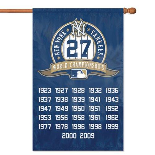 Yankees Mlb Applique Banner Flag - 1