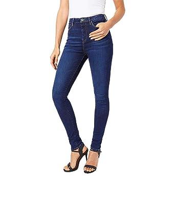 76c50929592c Pepe Jeans - Jeans - Femme Bleu Bleu  Amazon.fr  Vêtements et accessoires