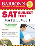 Barron's SAT Subject Test Math Level 1 with CD-ROM, Ira K. Wolf, 0764196839