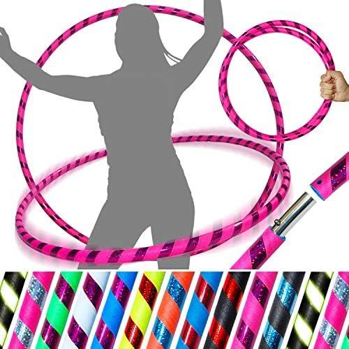 Activit/é de remise en forme Gax Sports Hula Hoops Cerceaux dexercice Hula Hoops pour enfants et adultes Jeux de perte de poids Multicolore Sporting Good