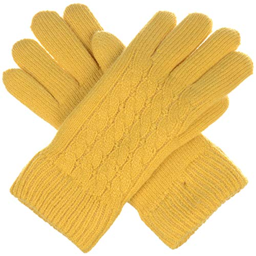BYOS Women's Winter Classic Cable Warm Plush Fleece Lined Knit Gloves, Many - Fleece Stretch Mittens