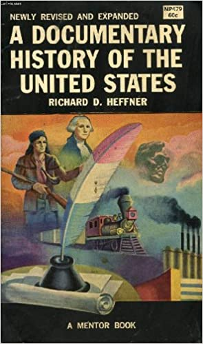 Book A Documentary History of the United States