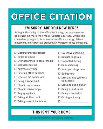 By Knock Knock Office Citation: Nifty Note