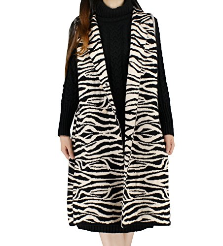 Zebra Print Vest - 4