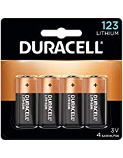 Duracell - 123 3V High Power Lithium Batteries - 4 count (5008619)