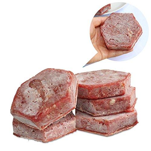ZWANDP Molde de carne de Hamburgo Hamburguesa Muffin Pan Bandeja Cupcake Bandejas de hornear Cupcake Holders Fácil Limpieza Hamburguesa rellena Patty Makers ...