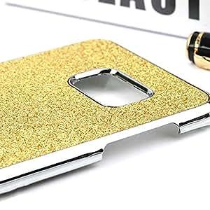 MMRM brillantes duro PC Back Case Cover Skin para Galaxy S7Golden