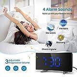 PICTEK Projection Alarm Clock, FM
