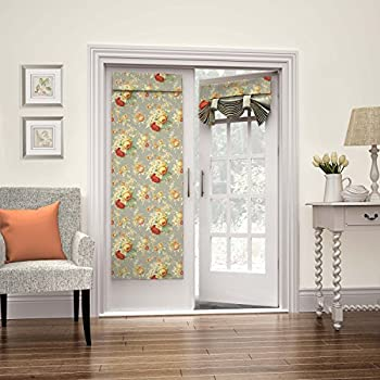 Amazon Com Waverly Room Darkening Curtains For French