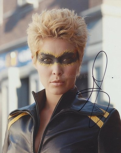 ALAINA HUFFMAN as Dinah Lance / Black Canary - Smallville GENUINE AUTOGRAPH