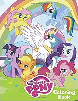 My Little Pony Coloring Book: Coloring Book for Kids and Adults - 40 ...