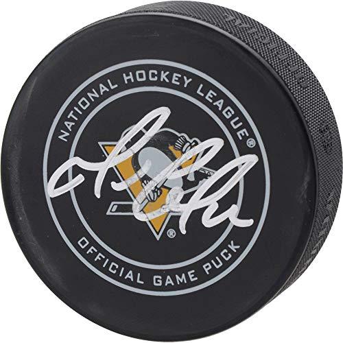 Mario Lemieux Pittsburgh Penguins Autographed Official Game Puck - Fanatics Authentic Certified - Autographed NHL Pucks ()
