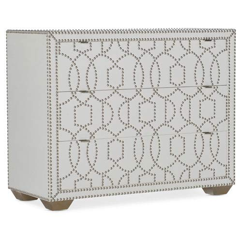Hooker Furniture Melange White Carlita Accent Chest by Hooker Furniture