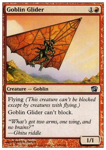 Magic: the Gathering - Goblin Glider - Eighth Edition ()