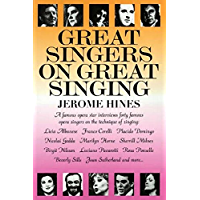 Great Singers on Great Singing: A Famous Opera Star Interviews 40 Famous Opera Singers on the Technique of Singing… book cover