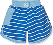 I-Play. Baby Boys' Pocket Board Shorts with Built-in Reusable Absorbent Swim Di